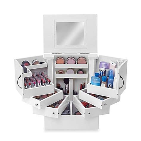 bathroom makeup organizers lori greiner deluxe cosmetic organizer box bed bath beyond