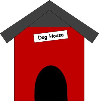 clipart dog house dog house clip art dog house image