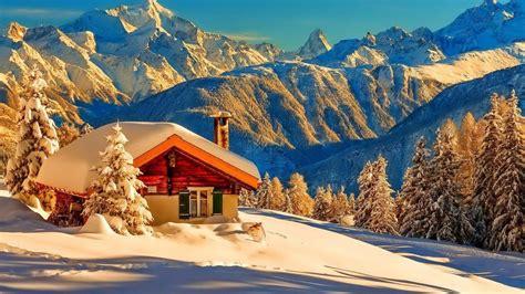 winter mountain desktop backgrounds group