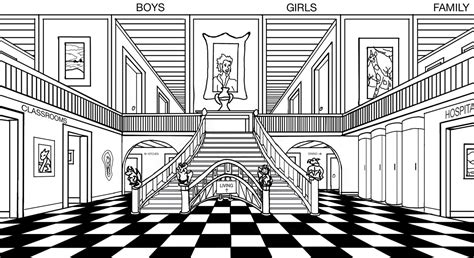 mansion house coloring pages the unwanteds 187 extras