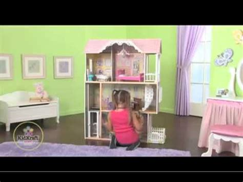 doll house video kidkraft petite chateau doll house youtube