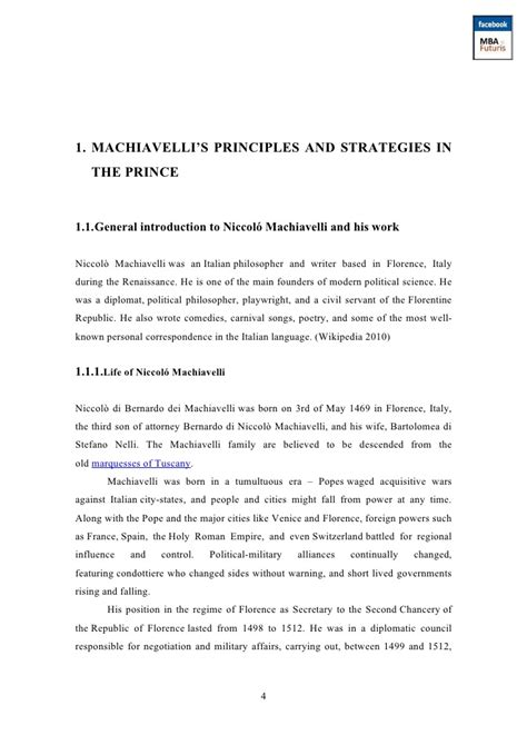 The Prince Essay by Niccolo Machiavelli Essay Machiavelli Niccolo Machiavelli And The Prince Niccolo Machiavelli