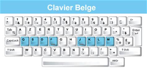 instructeur de dactylographie à l'aveuglet | clavier belge