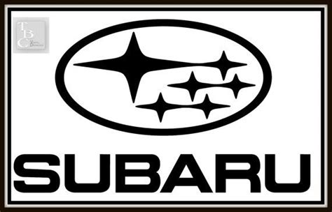 subaru logo snow logos subaru and decals on pinterest