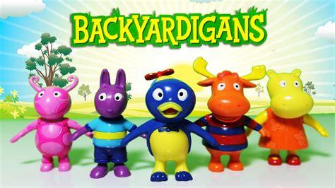 Backyardigans Figures Backyardigans Pablo Tyrone Uniqua Portugu 234 S