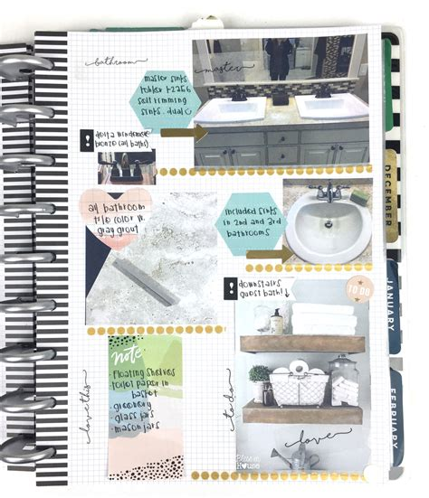the happy planner home renovation planner me my big