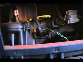 how to change the blower motor resistor 2002 dodge