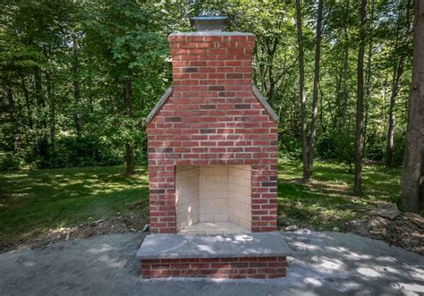 100 outdoor fireplace chimney height how to build an
