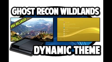 ps4 themes south africa ps4 themes tom clancys ghost recon wildlands dynamic