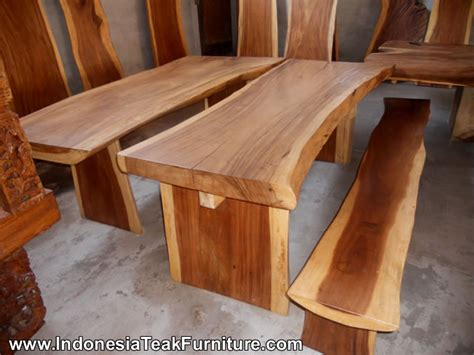 outdoor dining table garden furniture bali indonesia