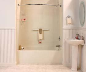 Bathtub Shower Replacement by Tub Shower Replacement In Green Bay Bath Renewal
