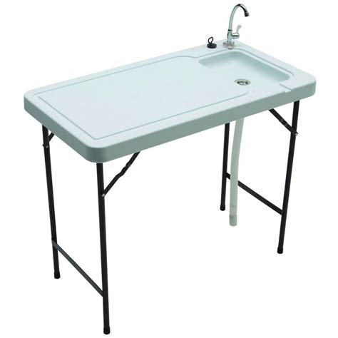 outdoor sink station home depot tricam fish and table with connect stainless