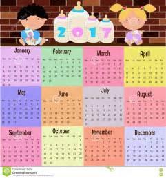 And Tobago Kalendar 2018 Kalender 2017 Vektor Abbildung Bild 71816587