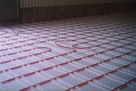 radiant floor heating basement rooms
