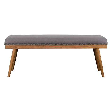 upholstered benches laurel foundry modern farmhouse upholstered entryway bench