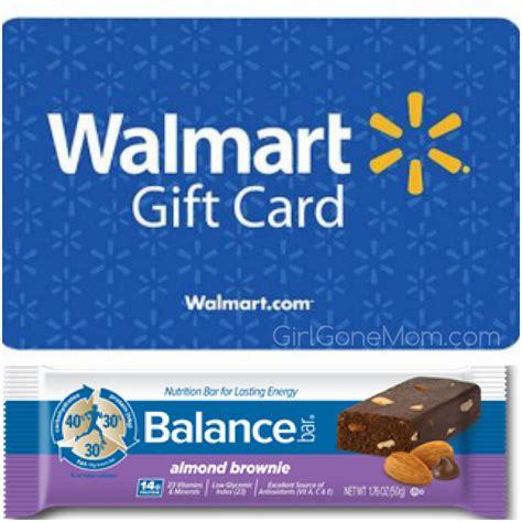 summer essentials balance bars walmart gift card