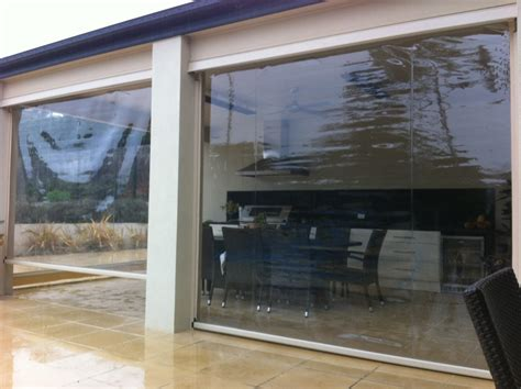 cafe clear pvc blinds northern beaches eastern suburbs