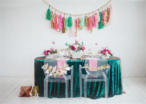 Putting It Together Green Pink by Emerald And Pink Wedding Ideas 183 Ruffled