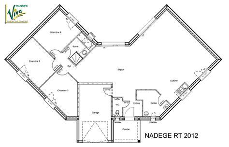 Plan Maison En V 4804 by Mod 232 Le Et Plans Nadege Du Constructeur Maisons Viva