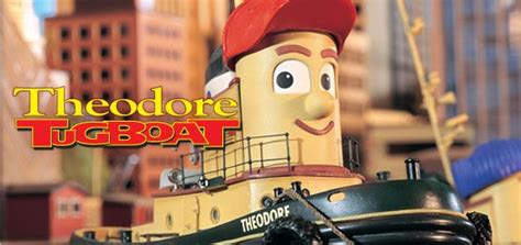 tugboat children s show theodore tugboat tv show my childhood pinterest tvs