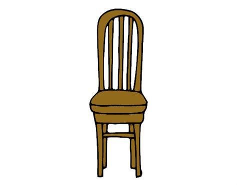 silla dibujo dibujo de silla de madera pintado por en dibujos net el