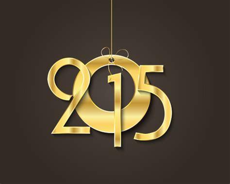 new year golden week 2015 golden creative 2015 new year vector material 04 vector