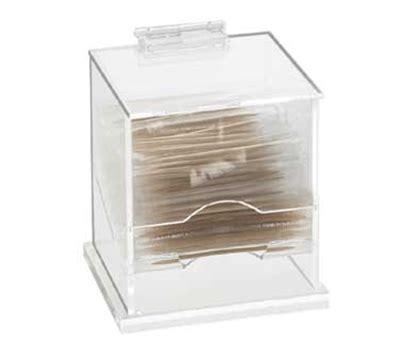 browne foodservice altd5 toothpick dispenser 18 8 cal mil 304 clear acrylic wrapped toothpick dispenser 4 5