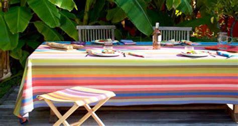 Table De Balcon 1825 by Nappe Et Toile En Couleurs Pour Une D 233 Co Jardin Tendance