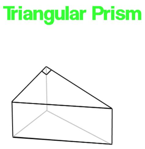 How To Make A Triangular Prism Out Of Paper - trapezoidal prism surface area worksheet prisms