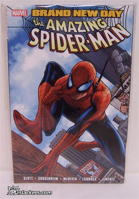 Amazing Spider Vol 5 Spiral Marvel Graphic Novel Ebooke Book amazing spider brand new day vol 1 graphic novel ebay