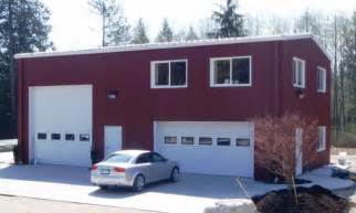 steel garage with apartment steel buildings with living quarters recreational
