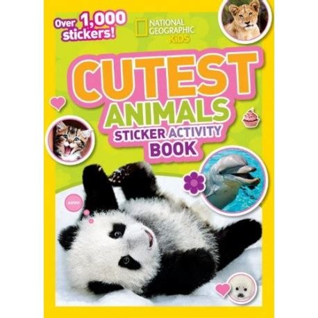 cutest animals sticker activity book english wooks