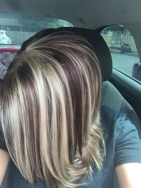 dramatic highlights for gray roots best 25 dramatic highlights ideas on pinterest