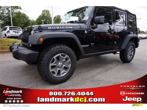 2015 Black Jeep 2015 Black Jeep Wrangler Unlimited Rubicon 4x4 97604380