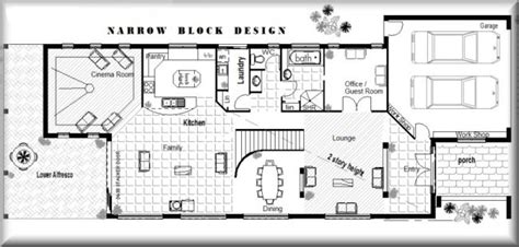 australian house designs plans house design ideas narrow block house designs perth 4 bedroom guest room