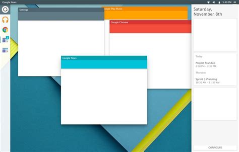 Google Design Linux | new linux os that respects google s material design is in