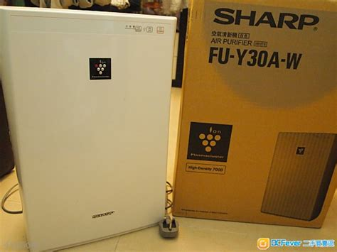 Ac Sharp Plasmacluster Hd 7000 出售 聲寶白色空氣離子清新機 sharp air purifier white ion