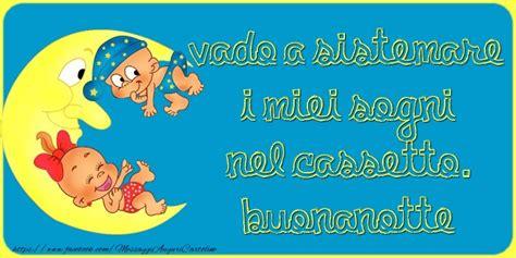 imagenes de buenas noches niña hermosa cartoline di buonanotte messaggiauguricartoline com