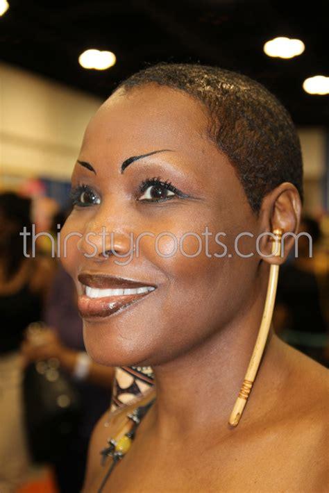 black woman with short bald haircuts very short black haircuts