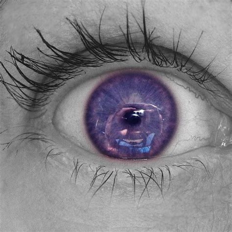 purple eye color also known as violet eyes a mutation when someone is