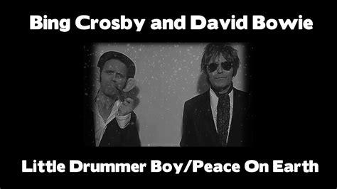 david crosby bing crosby david bowie and bing crosby peace on earth little
