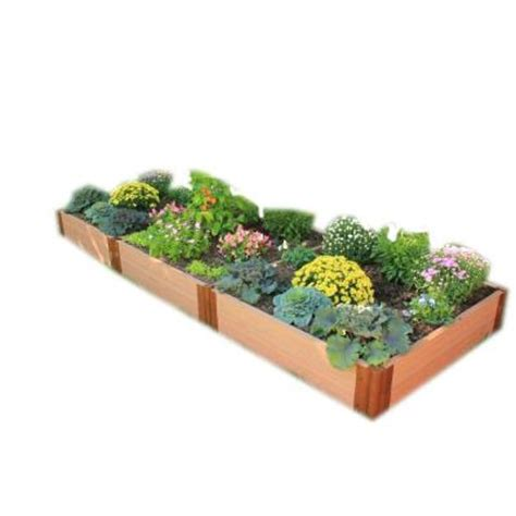 raised bed garden kits home depot terrasse en bois frame it all two inch series 4 ft x 12 ft x 11 in