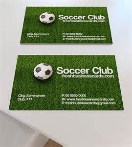 soccer business cards soccer business card unique business cards