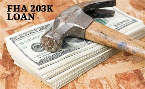 fha 203k rehab loans buy and repair a home with one loan