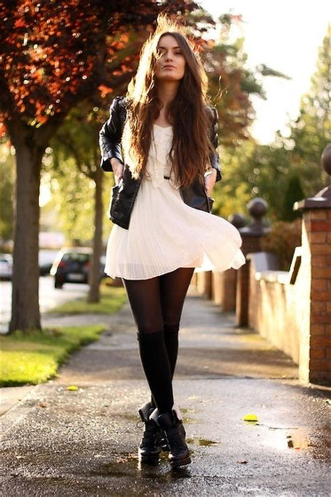 black white dress with tights can i wear a white dress with black tights dress like a