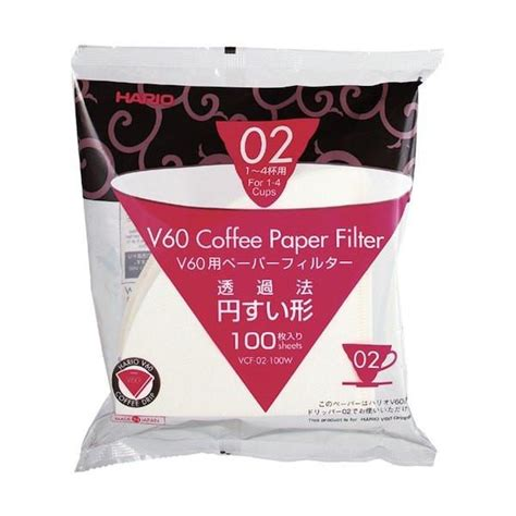 Sale Paper Coffee Filter Untuk Alat V60 Size 01 Isi 40 Lembar hario v60 coffee dripper paper filters cape coffee beans
