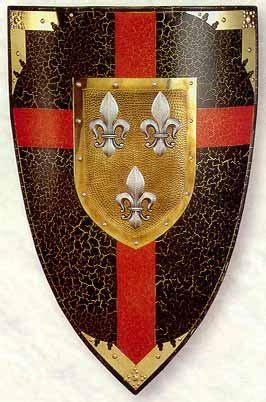 escudos de ouro ou de bronze blog do pr venilton cavaleiros medievais 1 as armas drigus s blog