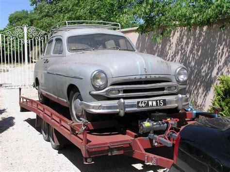 Rénovation Grange by Ford Vedette 1953 Techni Tacot R 195 169 Novation V 195