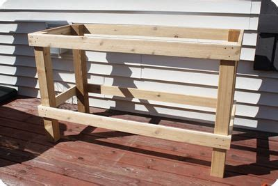 build your own potting bench make your own potting bench garden outdoor rooms