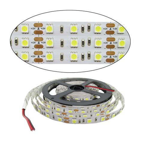 Led Smd 5050 5m roll 60leds m rgb led 5050 smd led strips light with 24 key ir remote